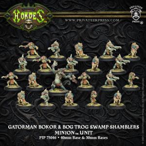Gatorman Bokor & Bog Trog Swamp Shamblers — Unité Séide 60€