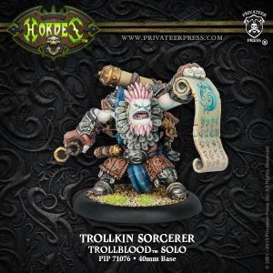 Trollkin Sorcerer — Solo Trollblood 23€